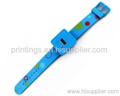 Heat transfer film for watch band