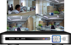 4CH HD IDVR 3 in 1 DVR\HVR\NVR All Camera Compatible (IP or not IP)