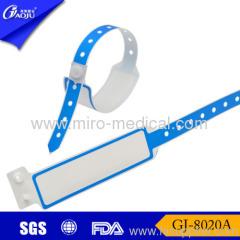 Write on hospital id wristbands