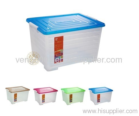 household plastic storage box