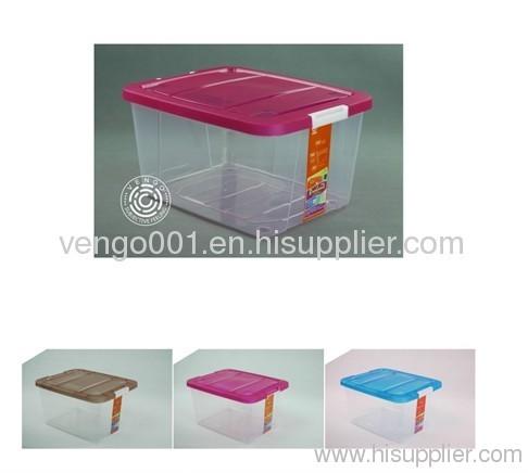 plastic storage bins with lid