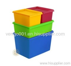 household plastic storage bins