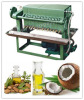 Edible oil filtering machine