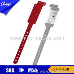 PVC hospital id bands