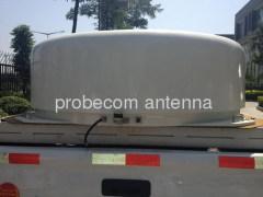 90cm drive away ku band on the move antenna