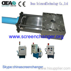 Screen changer/melt filter for Plastic Film Blowing Machine