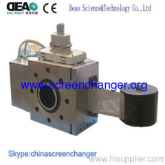 Automatic screen changer-mesh belt continuous screen chager