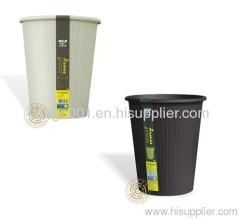 plastic paper trash bins