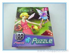 Popular Jigsaw puzzle--Disney Fairies 100pcs puzzle