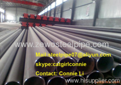 A106B/ST37 carbon seamless steel pipe