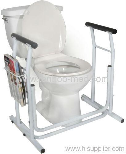 Lightweight Safety Toilet Rail