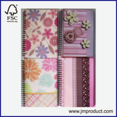 custom PP cover notebook