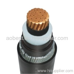 one core xlpe insulated armoured power cables