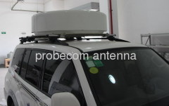 72cm satellite news gathering antenna