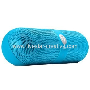 Beats Pill 2.0 Portable Stereo Speakers Neon Blue Limited Edition
