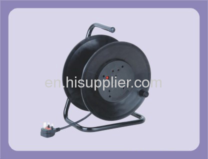 UK TYPE EXTENSION CABLE REEL WITH 3 OUTLET 10M 13A