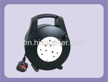 25M 30M UK extension cable reel with 4 outlet sockets