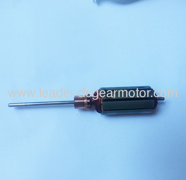 100% electrolytic copper wire electric motor armature