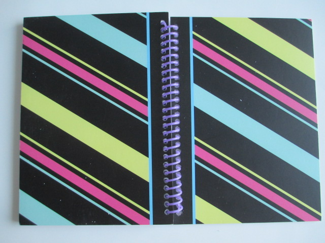 3 subjects spiral notebook
