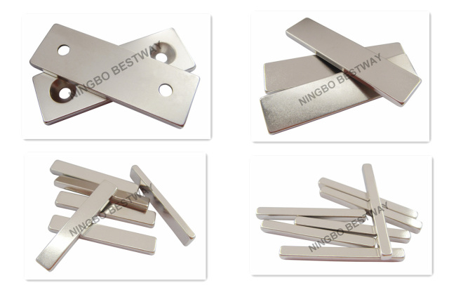 N35SH NiCuNi L65x15x3mm Neodymium Block NdFeB MagnetsWholesale