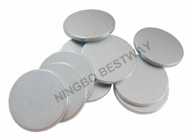 N42 D22x2mm Rare Earth Disc MagnetNeodymium NdFeB Magnet Disk Zn coated
