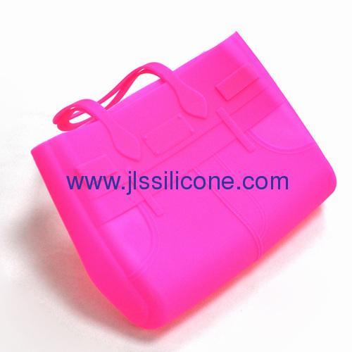 Fashion large silicone shopping bag