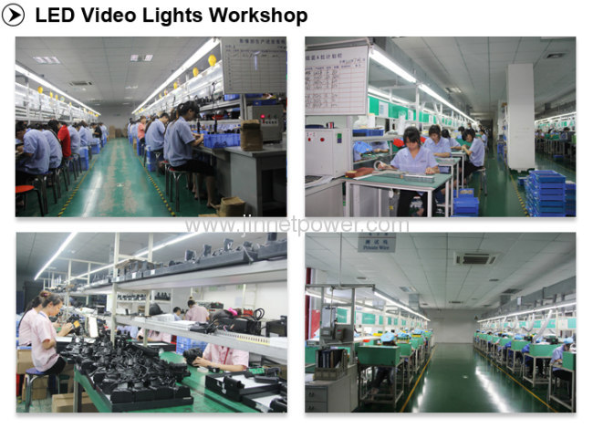 LED-336A LED Video Light for Sony Camcorders with 336 Leds 20W