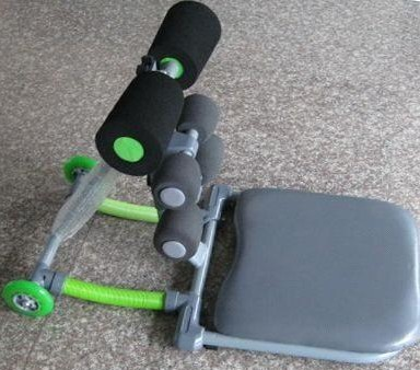 Total core with digital counter and yoga ball
