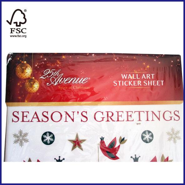Christmas Decoration Wall Art Sticker