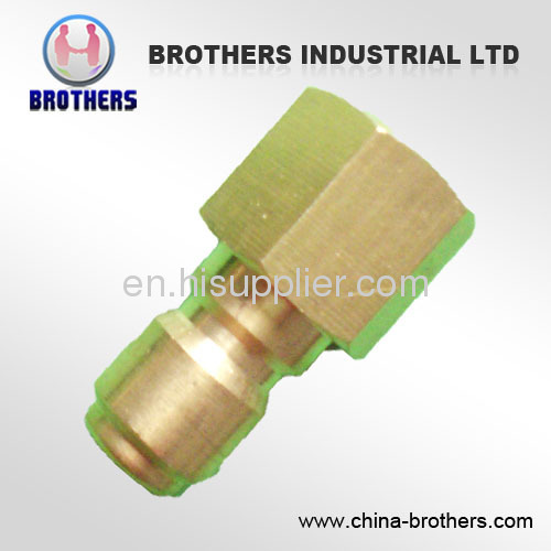 BRASS MNPT Quick Connect Plugs For High Pressure Washers