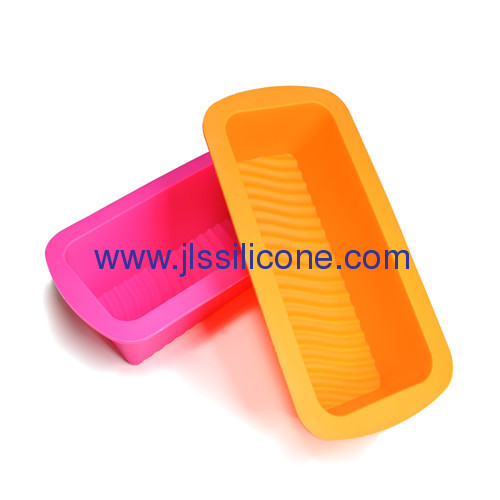 Rectangle bakeware silicone cake molds
