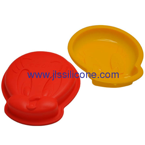 attractive bakeware silicone disney cake baking molds