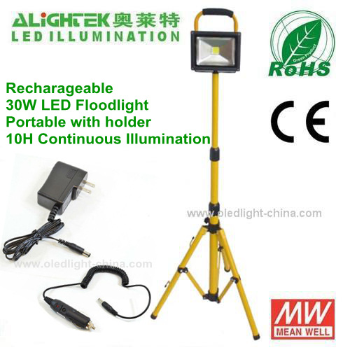 Outdoor IP65 Waterproof Portable 30W Portable LED