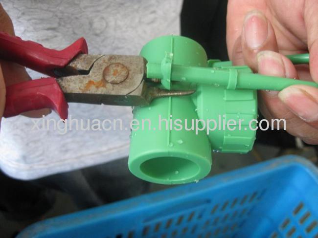 FR-PPR Fiberglass Composite pipe SDR7.4/S3.2/PN20 20-63mm