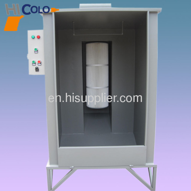paint spray booth manual type