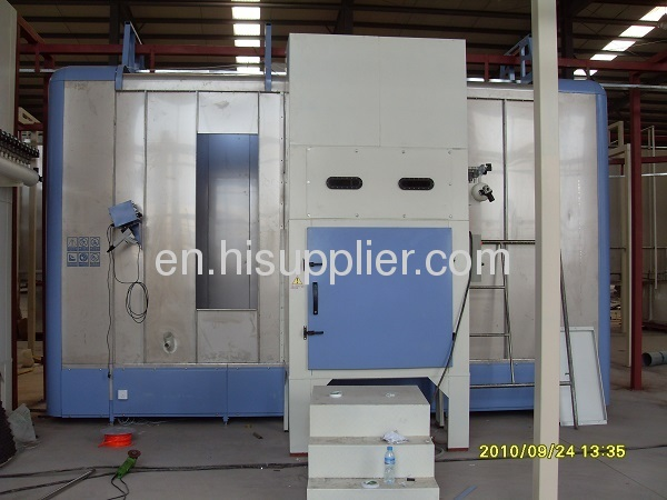 automatic paint coating booth