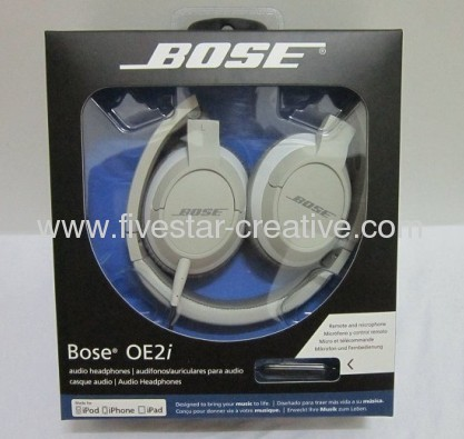 Bose OE2i On-Ear Headphones With iPhone Control-White