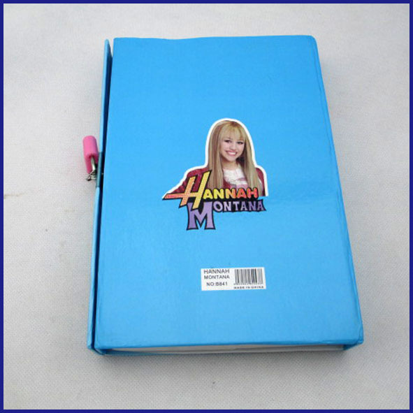 hardcover notebook with lock