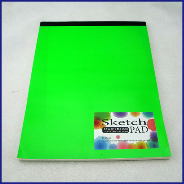 3 subjects sketch notepad