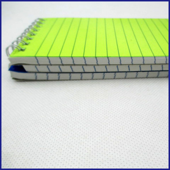 3 subjects spiral notebooks