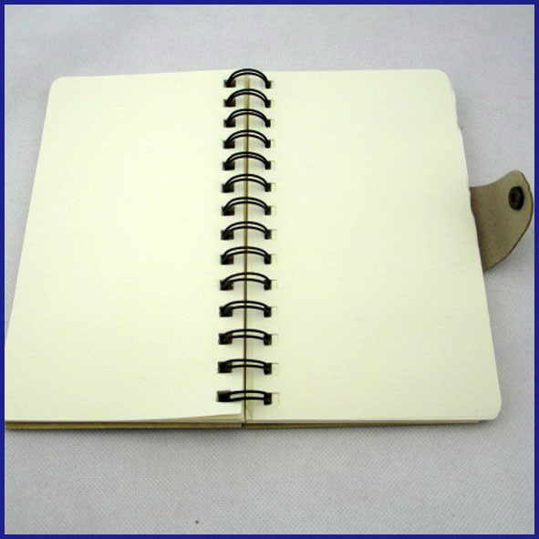 high quality craft cover spiral notebook
