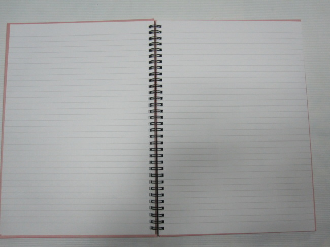 A6 4 subject college ruled hardcover notepad/notebookcarton