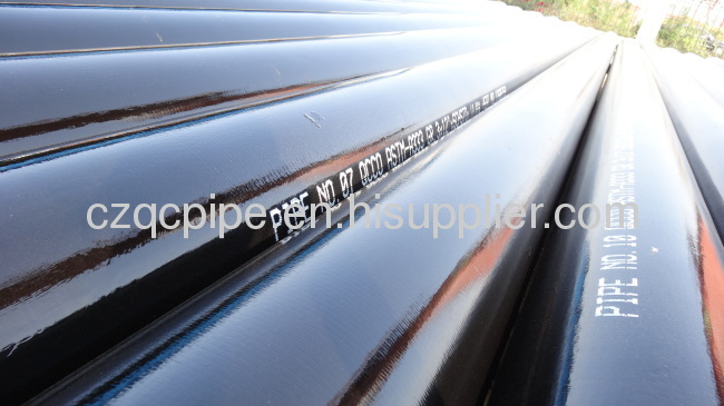 Low alloy seamless steel pipe ASTM A333 Gr.3