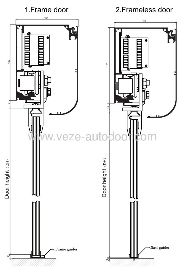Photos Of Automatic Sliding Door Details