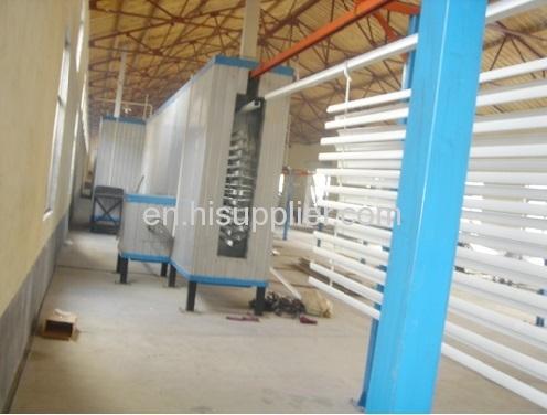 Aluminum Profile Vertical Powder Coating Line