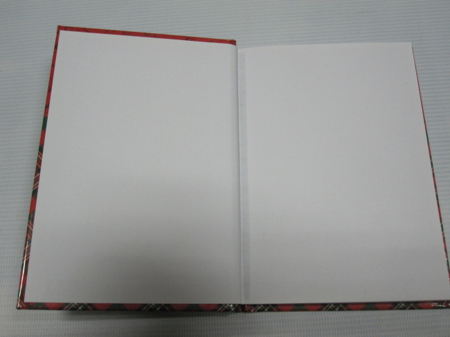 A6 2 subject college ruled hardbound notepad/notebookforChristmas