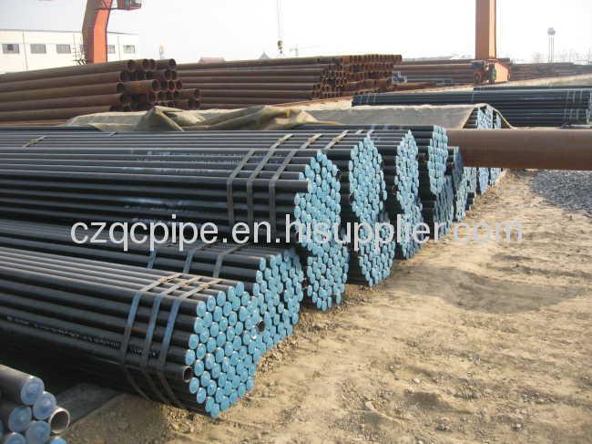 ASTM A106/ASTM A53/API 5L carbon seamless pipe