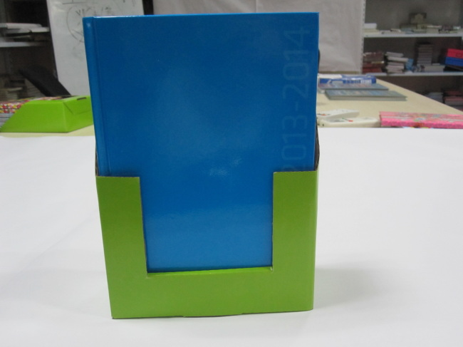 A5 colourful hardbound notebook/agenda/planner with display box