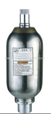 50L stainless steel bladder accumulator