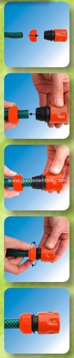 Plastic 1/2Snap-In Quick Connector For Connecting Hose